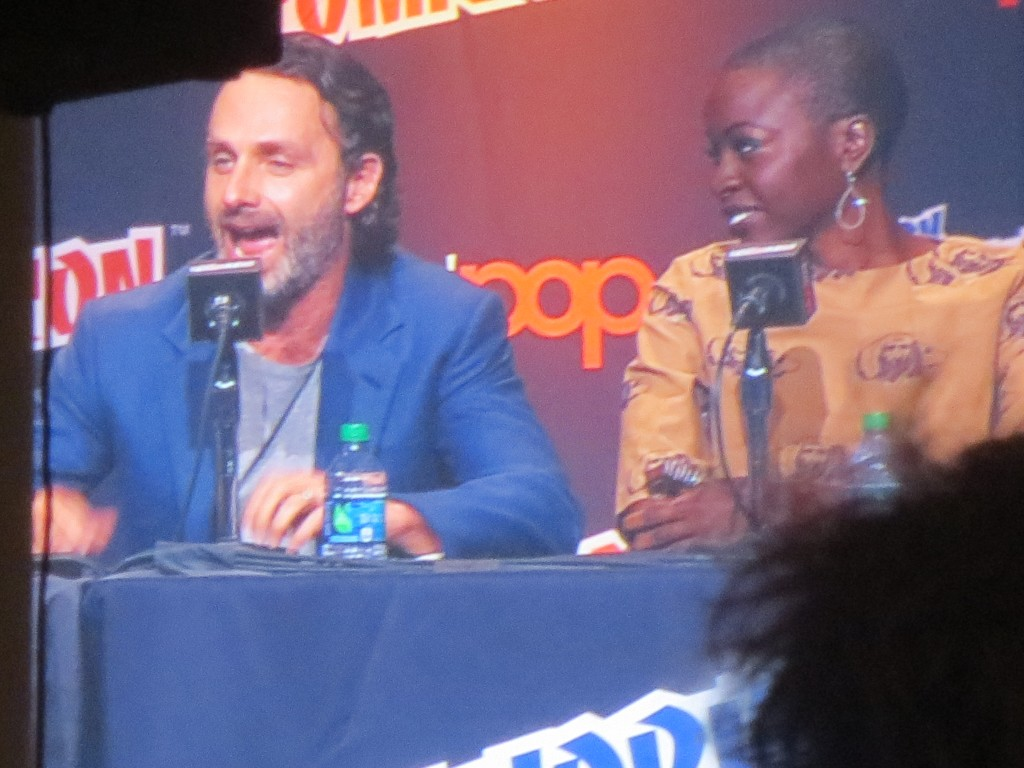 "Andrew ""To us, you are perfect"" Lincoln, Danai Gurira"