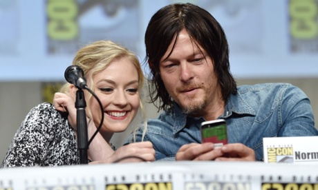 SDCC TWD Norman and Emily