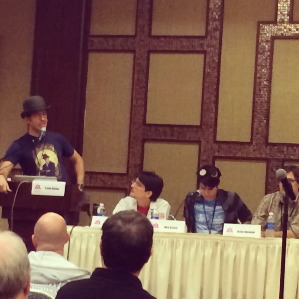 inspector spacetime panel communicon