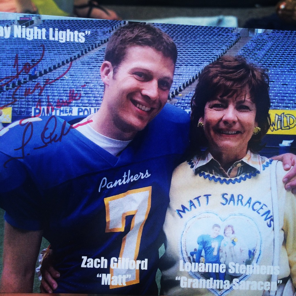 Matt and Grandma FNL