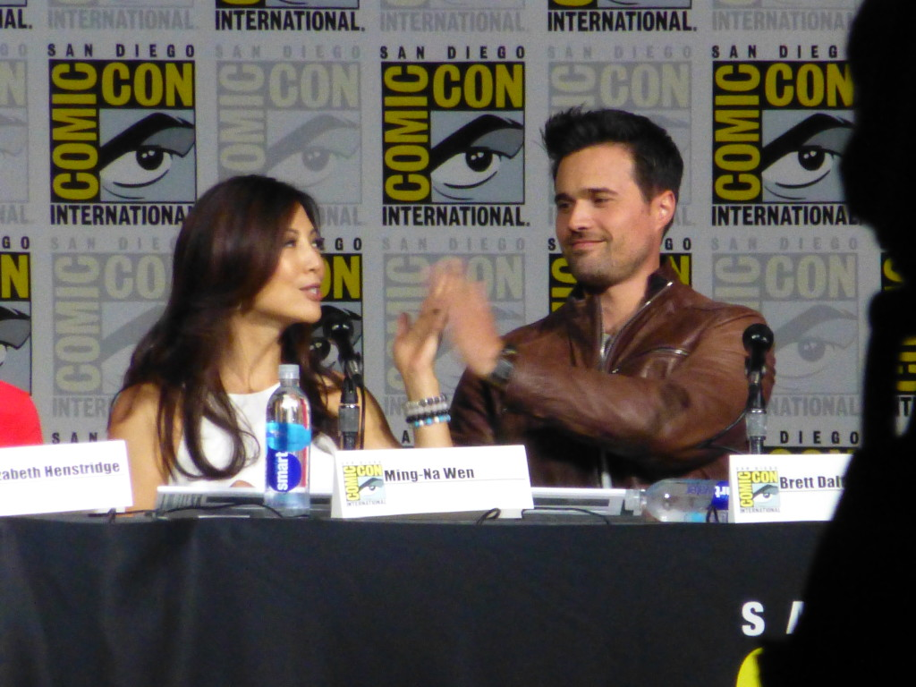 Ming-Na Wen and Brett Dalton