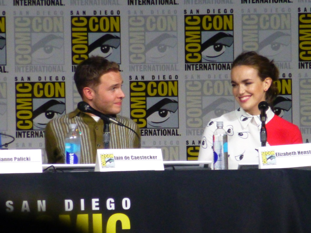 Iain De Caestecker and Elizabeth Henstridge