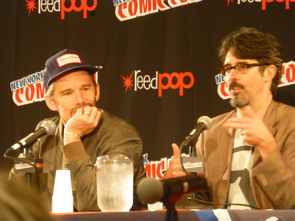 Ethan Hawke and Greg Ruth NYCC