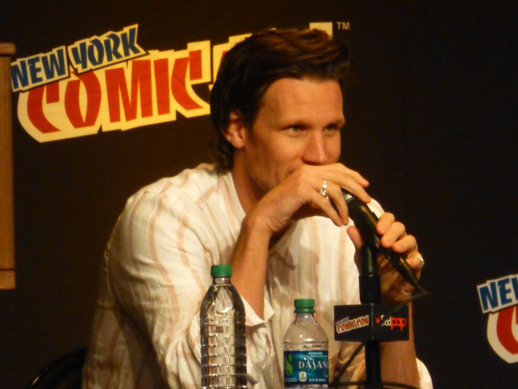 Matt Smith Jenna Coleman Alex Kingston panel NYCC