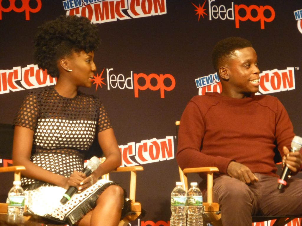 Dirk Gently panel NYCC